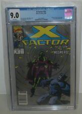X-Factor (1986 Series) #55 Newsstand June 1990 Marvel CGC 9.0