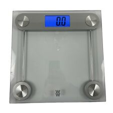 Conair Weight Watchers Digital Clear Glass Scale Tempered Glass 400 Lb. Capacity