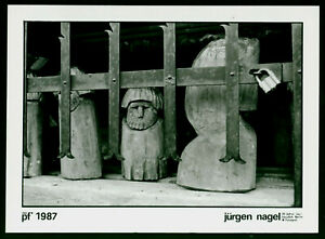 "Jürgen Nagel (1942 Berlin, lebt in Altlandsberg)  ""P.F. 1987"""