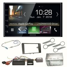 Kenwood DMX-7018DABS Android Auto CarPlay Einbauset für Audi A3 8P 8PA