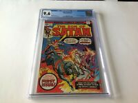 SON OF SATAN 1 CGC 9.6 WHITE PAGES JIM STARLIN MARVEL COMICS