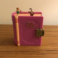 Vintage Polly Pocket Mini Glitter Island Storybook Bluebird