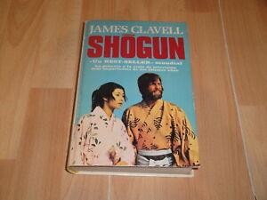 SHOGUN DE JAMES CLAVELL LIBRO PRIMERA EDICION DEL AÑO 1981 EN BUEN ESTADO