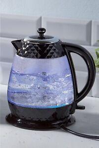Black Diamond Glass Kettle