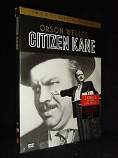 Citizen Kane (Dvd, 2001, 2-Disc Set) Brand New!•Factory Sealed!•Usa•Out-of-Pr int