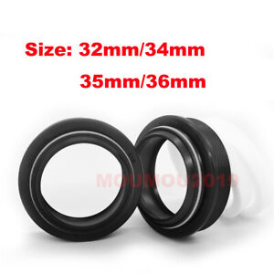Bicycle Front Forks Dust Oil Seal Kits 32mm - 36mm Seal & Foam Ring for Rockshox