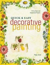 Quick & Easy Decorative Painting by Peggy Jessee 2000 FREE SHIP