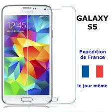 VERRE Trempé Samsung GALAXY S5 - Vitre Protection G900F- I9600 -Film Transparent