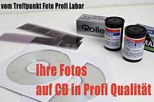 Rollfilm 120er Mittelformat Negative digitalisieren scannen vom Fachlabor