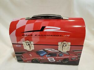 Vintage Dale Earnhardt Jr. Tin Lunch Box Dome Top #8