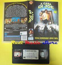 VHS film A CASA DI JOE sesso scarafaggi rock n roll 1997 MTV WARNER (F53) no dvd
