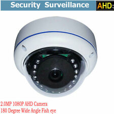 2.0MP HD 1080P AHD Camera 180 Degree Wide Angle Fish eye Dome IR Home Security