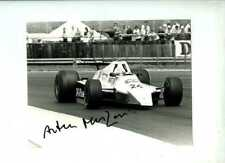 Arturo Merzario MERZARIO A4 British Grand Prix 1979 firmato Fotografia