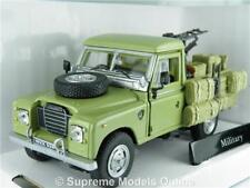 LAND ROVER MILITARY ARMY 4X4 CAR 1/43RD MODEL OPEN BACK + LOAD ISSUE UIP978T[-]