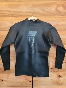 Desoto T1 Black Pearl Pullover Top  Full Sleeve  Wetsuit SIZE 6 Men's or Women's
