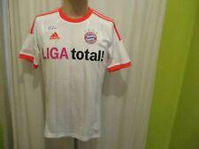 "FC Bayern München Adidas Auswärts Triple Trikot 2012/13 ""LIGA total"" Gr.S- M"