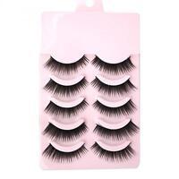 Pairs Makeup Long Thick  False Eyelashes Natural Eye Lashes Extension Handmade