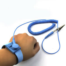 Anti-Static Prevent Electricity Ground Wristband Wrist Strap ESD Discharge Tool