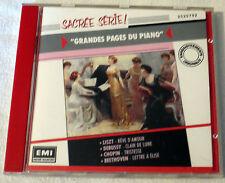 CD Audio-Les grandes pages du piano-Sacrée série