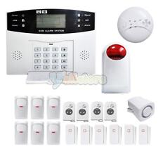 Wireless LCD GSM SMS Home Security Burglar House Home Alarm System Auto Dialer