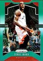 2019-20 Panini Prizm Prizms Green #154 Serge Ibaka Toronto Raptors Basketball