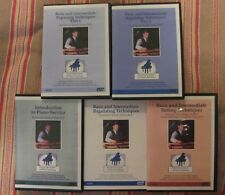 PIANO TUNING & PIANO REPAIR - 5 DVDs + Piano Regulating - COMPLETE COLLECTION