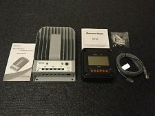 NEW 1215BN Tracer 10A 12/24V MPPT Solar Charge Controller with MT50 Remote Meter