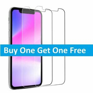 Gorilla Tempered Glass Screen Protector for New iPhone 11 Pro X XR XS Max Cover