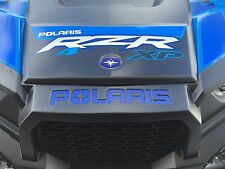 Polaris RZR 1000 / XP1K / XP1000 - Blue Carbon Fiber Inlay Decals FULL SET