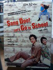Sang Doo! Let's Go to School (Korean Drama Movie Series) Rain, Kong Hyo jin,