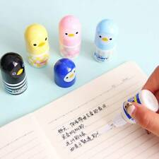 Cute Chick Plastic Correction Fluid Corrector Tape Student Stationary Supplies