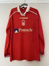 1998-99 Long Sleeved Nottingham Forest Home Shirt - Large