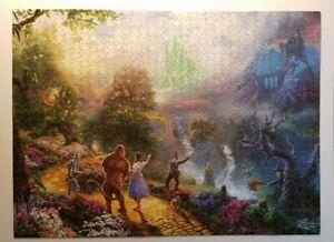 Thomas Kinkade The Wizard of Oz Puzzle 1000 Pieces
