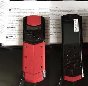 Vertu K7 Signature Design - Red/Black (Unlocked) Cellular Phone