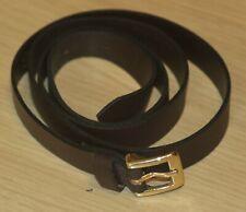 ASOS Brown Leather Belt S/M