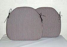 Striped 100% Cotton Garden & Patio Furniture Cushions