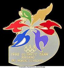 OLYMPIC PINS 1998 NAGANO JAPAN SKI NORDIC COMBINED