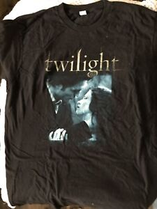 TWILIGHT T SHIRTS  EDWARD & BELLA PROM  with QUOTE  XL
