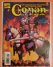 CONAN SAGA #94 ~ VF JANUARY 1995 ~  MARVEL MAGAZINE ~ ROY THOMAS & JOHN BUSCEMA