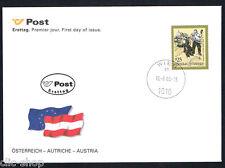 AUSTRIA 1 BUSTA PRIMO GIORNO FDC STORIE E LEGGENDE ÖSTERREICH 2000