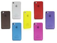 Cover ultraslim 0,5mm per Apple iPhone 4 4G 4S satinate case custodia semirigida