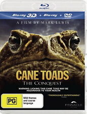 Cane Toads: The Conquest - Blu-Ray 3D + Blu-Ray + DVD