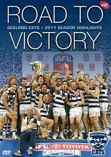 F21 BRAND NEW SEALED AFL - 2011 Premiers Road To Victory Geelong Cats (DVD,2011)