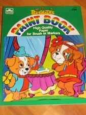 Biskitts Paint Marker Book 1984 Golden Rare New