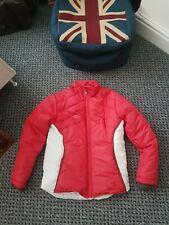 Girls Red Designer Billy Coat Puffa Jacket Fleece Lined Raincoat 14 Yrs - VGC