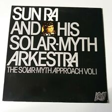 Sun Ra - The Solar-Myth Approach Vol 1 - Vinyl LP UK 1979 Press A-2/B-2 NM