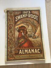 1923 Binghamton New York Almanac Indian Woman Local Historical Rare
