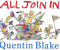 All Join in (Mini Treasure) by Quentin Blake, Good Book (Paperback) FREE & Fast