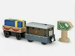 Thomas & Friends Wooden Railway Birthday Surprise Toby Accessory Pack