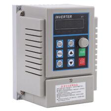 AC220V 0.75kW Entraînement Variateur de fréquence Single Phase Vitesse Variable